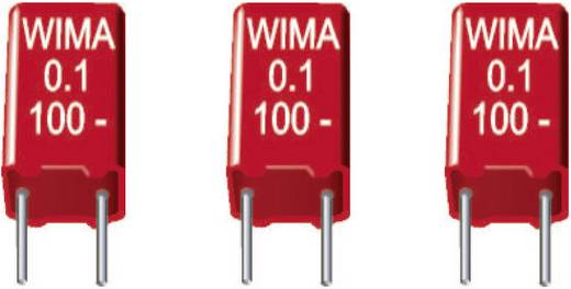MKS-Folienkondensator radial bedrahtet 4.7 µF 50 V/DC 20 % 5 mm (L x B x H) 7.2 x 7.2 x 13 mm Wima MKS2B044701K00KSSD 1