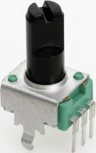 Leitplastik-Potentiometer Mono 50 kΩ TT Electronics AB P090S-04F20 B-50 KR 1 St.