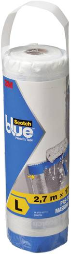 Abdeckfolie ScotchBlue™ Transparent (L x B) 17 m x 2.7 m 3M 70006584844 1 St.
