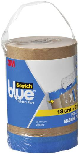 Abdeckpapier 3M ScotchBlue™ Braun (L x B) 25 m x 180 mm Inhalt: 1 St.