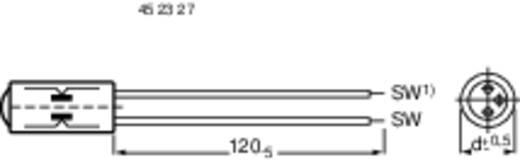 Entstör-Kondensator radial bedrahtet 0.1 µF 250 V/AC F & T ML 9728 B 1 St.