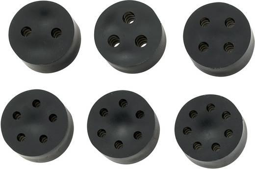 Mehrfachdichteinsatz PG13.5 Gummi Schwarz KSS MH16-3A 1 St.