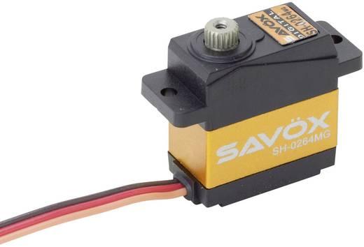 Savöx Mini-Servo SH-0264MG Digital-Servo Getriebe-Material Metall Stecksystem JR