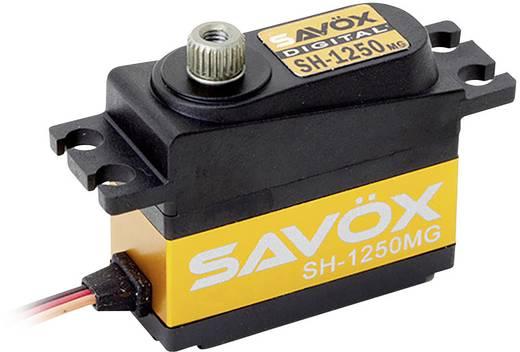 Savöx Midi-Servo SH-1250MG Digital-Servo Getriebe-Material Metall Stecksystem JR