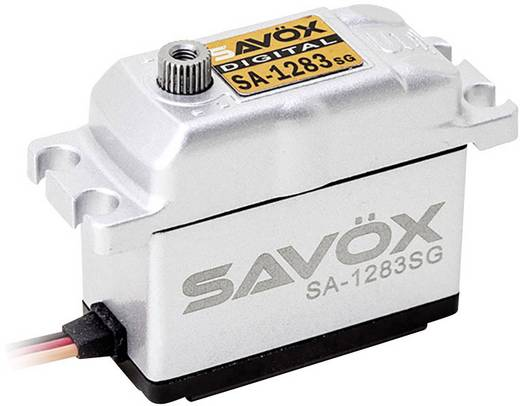 Savöx Standard-Servo SA-1283SG Digital-Servo Getriebe-Material Metall Stecksystem JR