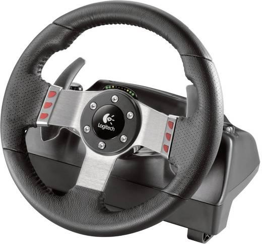 lenkrad logitech g27 force racing wheel usb pc. Black Bedroom Furniture Sets. Home Design Ideas