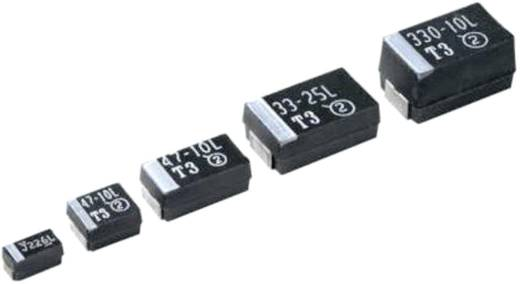Tantal-Kondensator SMD 10 µF 6.3 V 10 % (L x B x H) 6 x 3.2 x 2.5 mm Vishay 293D106X96R3C2TE3 500 St.