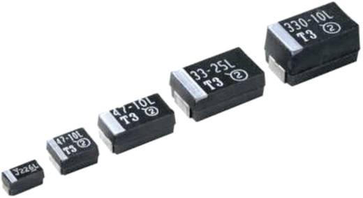 Tantal-Kondensator SMD 100 µF 10 V 10 % (L x B x H) 7.3 x 4.3 x 2.8 mm Vishay 293D107X9010D2TE3 500 St.