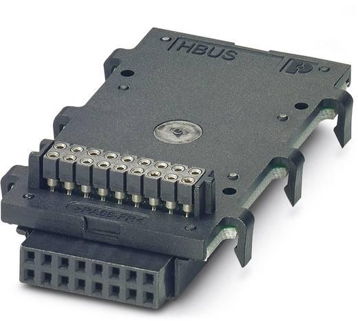 HBUS 53,6-16P-3S BK - Tragschienen-Busverbinder