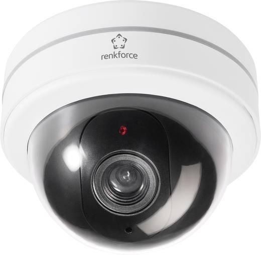 Kamera-Attrappe mit blinkender LED Renkforce 454422