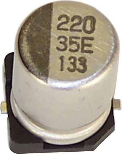 Elektrolyt-Kondensator SMD 100 µF 3 V 20 % (Ø x H) 5 mm x 5.4 mm Teapo VEV107M6R3S0ANG03K 1 St.