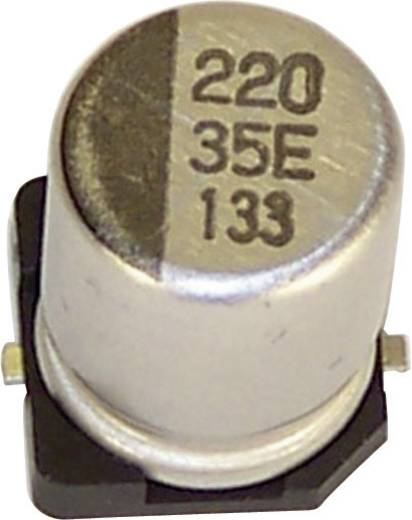 Elektrolyt-Kondensator SMD 220 µF 16 V 20 % (Ø x H) 8 mm x 10.2 mm Teapo VEV227M016S0ANE01K 1 St.