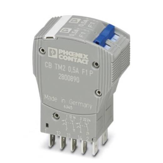 Schutzschalter thermisch 250 V/AC 0.5 A Phoenix Contact CB TM2 0.5A F1 P 1 St.
