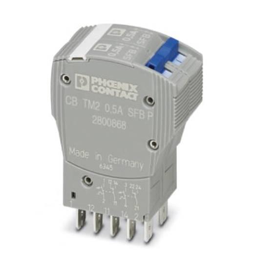 Schutzschalter thermisch 250 V/AC 0.5 A Phoenix Contact CB TM2 0.5A SFB P 1 St.