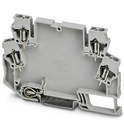Boîtier pour rail Phoenix Contact STTCO-LG 2,5/4 PE GY 2713159 plastique 50 pc(s)
