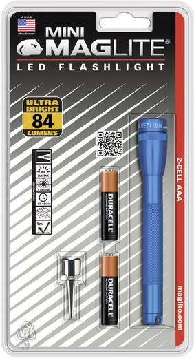 LED Mini-Taschenlampe MAG LED Technology Mini-Mag LED AAA batteriebetrieben 49 g Blau