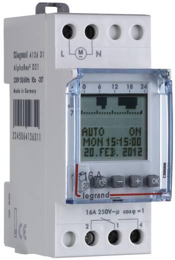 Hutschienen-Zeitschaltuhr digital Legrand 412631 16 A/250 V