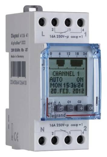 Hutschienen-Zeitschaltuhr digital Legrand 16 A/250 V