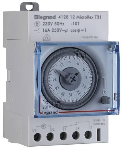 Hutschienen-Zeitschaltuhr analog Legrand 412812 16 A/250 V