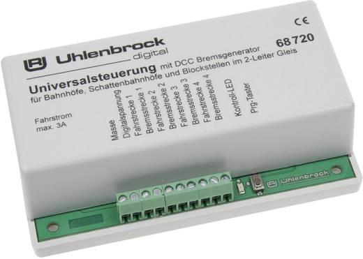 Universalsteuerung für 2-Leiter-Gleis