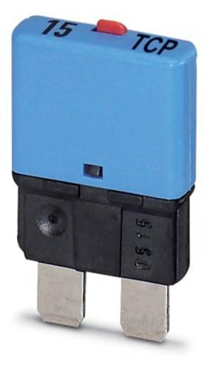 Schutzschalter thermisch 32 V/DC 15 A Phoenix Contact 15 TCP / DC32V 50 St.