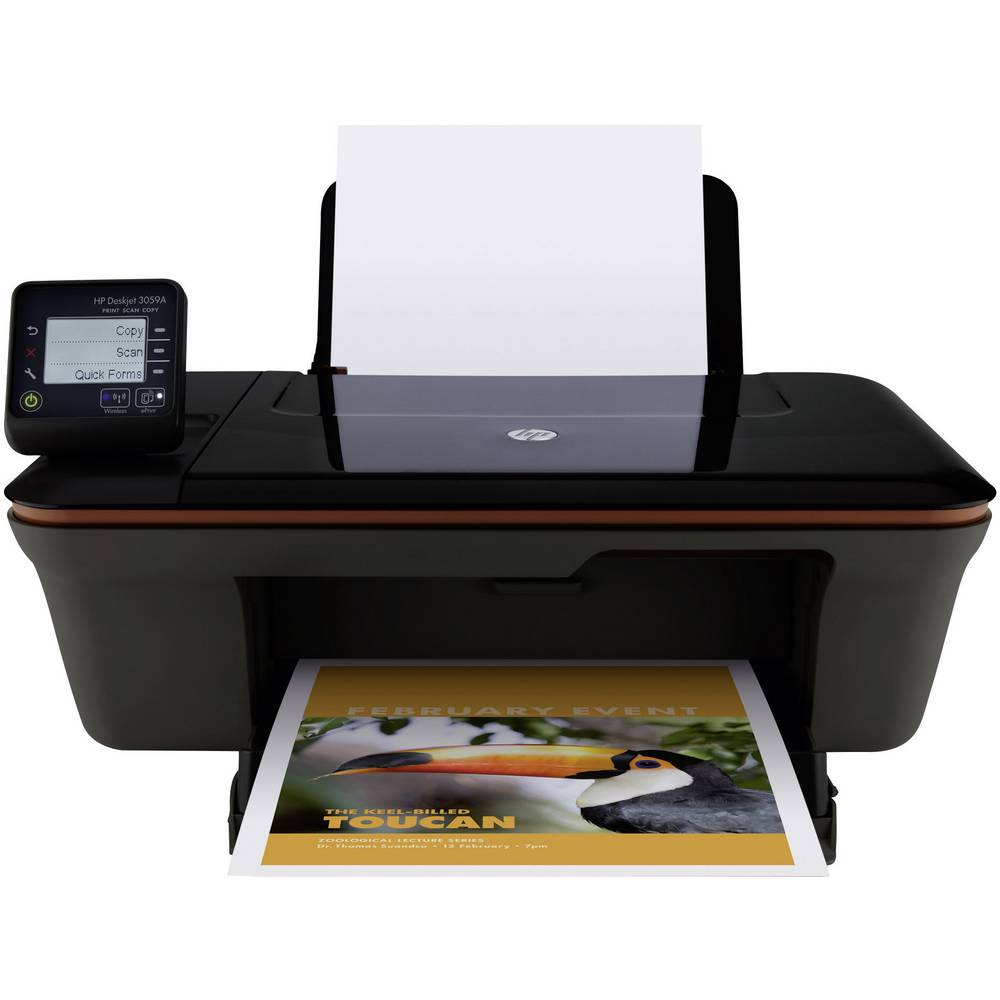hp deskjet 3059a e all in one imprimante multifonction 3. Black Bedroom Furniture Sets. Home Design Ideas