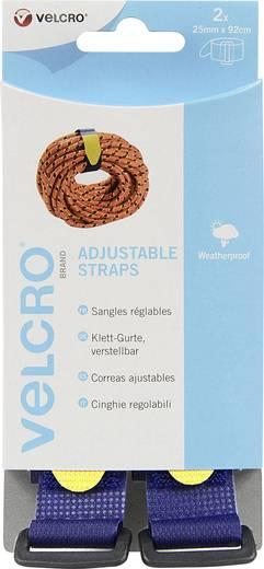 Klettband mit Gurt Haft- und Flauschteil (L x B) 920 mm x 25 mm Blau VELCRO® brand VEL-EC60327 2 St.