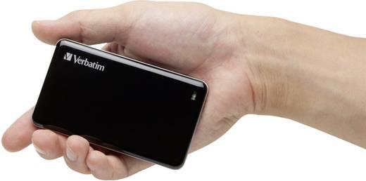 Externe SSD-Festplatte 6.35 cm (2.5 Zoll) 256 GB Verbatim Externe Schwarz USB 3.0