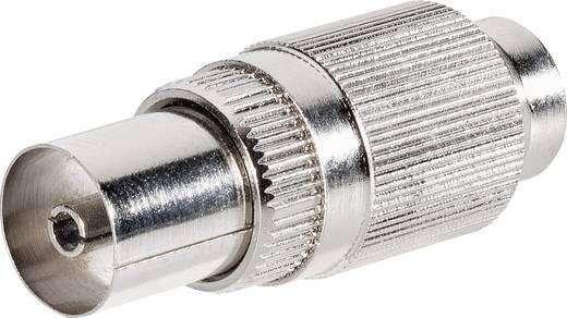 Koax-Kupplung-Metall Steckverbinder Kabel-Durchmesser: 9.5 mm