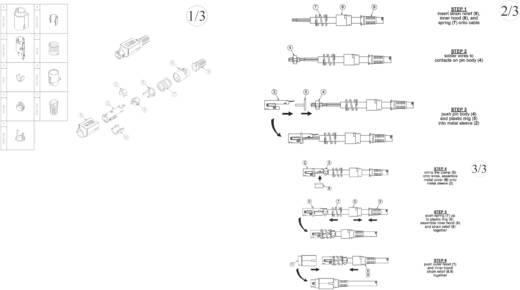 Netz-Steckverbinder Stecker, gerade BKL Electronic 0210003 1 St.