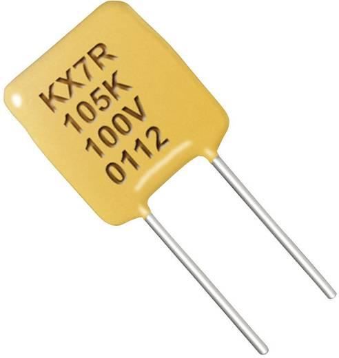 Keramik-Kondensator radial bedrahtet 0.1 µF 50 V 10 % Kemet C322C104K5R5TA7317+ 1 St.
