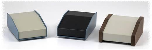 Pult-Gehäuse 146 x 165 x 56 Aluminium Blau, Beige Hammond Electronics 1456FE2WHBU 1 St.