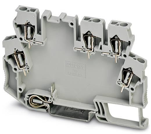 Hutschienen-Gehäuse Kunststoff Phoenix Contact STTCO-LG 2,5/5 ZB-PE GY 50 St.