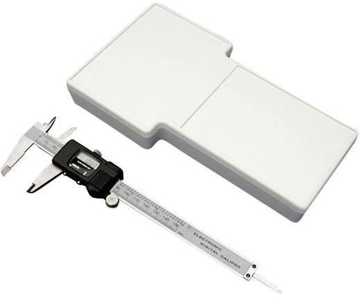 Hand-Gehäuse 235 x 130 x 34 ABS Grau Hammond Electronics 1592ETCDGY 1 St.