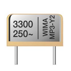 Image of Wima MPRY0W1100FC00MB00 Funk Entstör-Kondensator MP3R-Y2 radial bedrahtet 1000 pF 250 V/AC 20 % 1200 St.