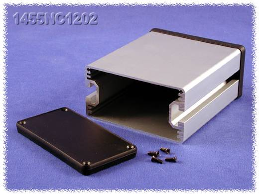 Universal-Gehäuse 220 x 103 x 53 Aluminium Natur Hammond Electronics 1455NC2201 1 St.