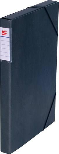 5 Star™ Dokumentenbox Karton, schwarz, 30mm