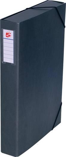 5 Star™ Dokumentenbox Karton, schwarz, 50mm