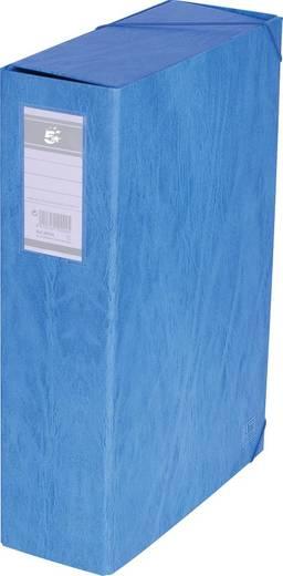 5 Star™ Dokumentenbox Karton, blau, 90mm