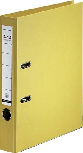 FALKEN Ordner Chromocolor/11285962, gelb, Rücken 50mm, für A4