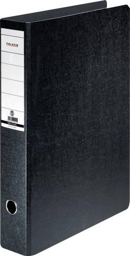 FALKEN Ordner Hartpappe /11285954, schwarz, Rücken 75mm, für A3, A3 hoch