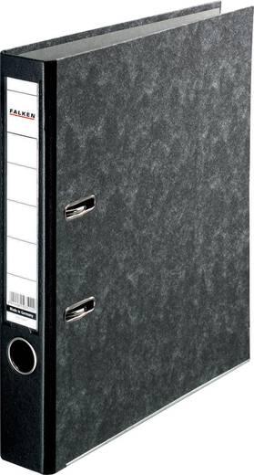FALKEN Ordner Recycling mit Tasche /11286549, schwarz, Rücken 50mm, für A4