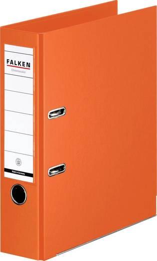 FALKEN Ordner Chromocolor orange/11285798, orange, Rücken 80mm, für A4