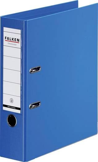 FALKEN Ordner Chromocolor blau/11285467, blau, Rücken 80mm, für A4