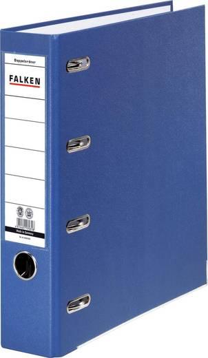 FALKEN Doppel-Ordner /11285392, blau, 70mm, für A4