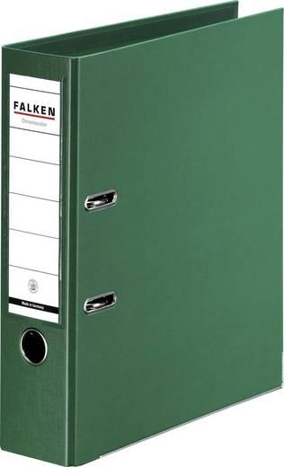 FALKEN Ordner Chromocolor grün/11285491, grün, Rücken 80mm, für A4