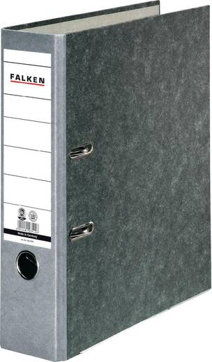 FALKEN Ordner Recycling /10311975, grau, Rücken 80mm