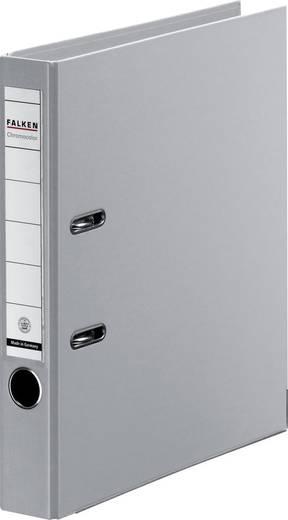 FALKEN Ordner Chromocolor/11286036, grau, Rücken 50mm, für A4