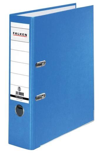 Falken Ordner FALKEN Recycolor DIN A4 Rückenbreite: 80 mm Blau 2 Bügel 11285673
