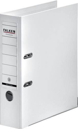 FALKEN Ordner Chromocolor weiß/11285525, weiß, Rücken 80mm, für A4